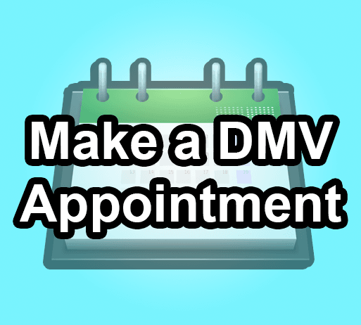 DMV Appointment