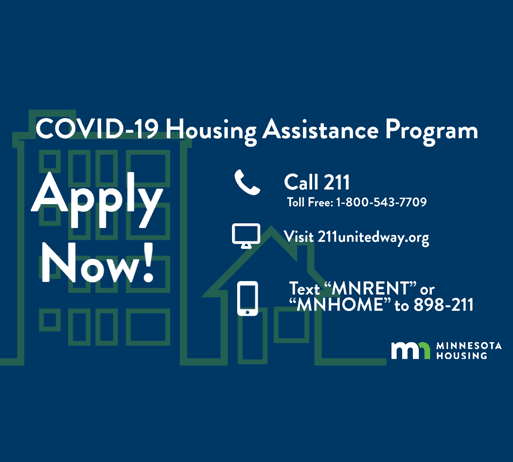 COVID-19 Housing Assistance Flash