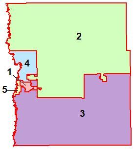 Clay County Commissioner Districts Map