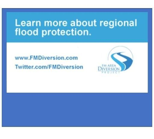 FM Area Diversion Project - learn more about regional flood protection