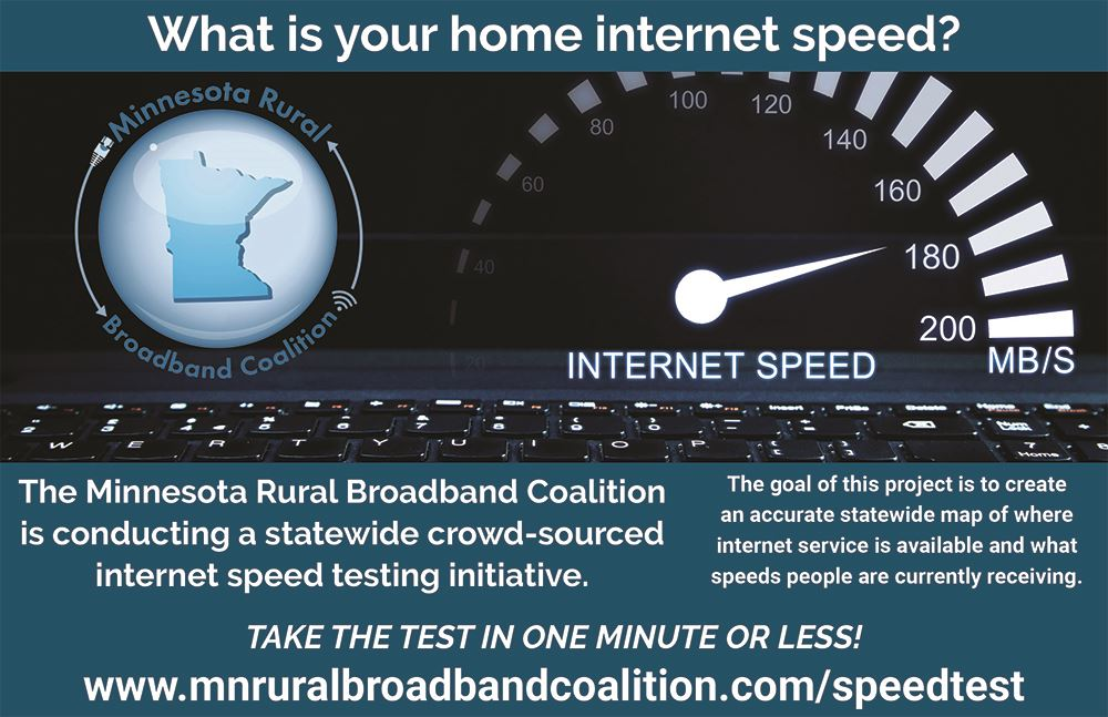 MN Speed Test Postcard