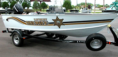 Clay County Sheriff Boat
